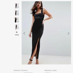 Black ASOS Formal Dress